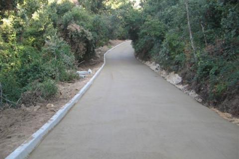 Riadattamento e recupero di antica strada rurale mediante la stabilizzazione del terreno in sito.